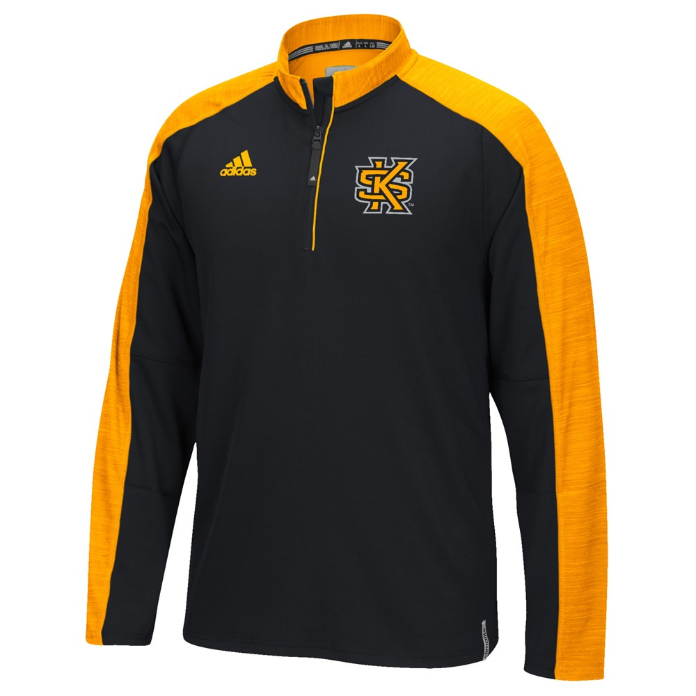NCAA-Adidas-Team-Men-039-s-Sideline-Climalite-1-4-Zip-Hi-Visibility-Reflective-Knit thumbnail 42