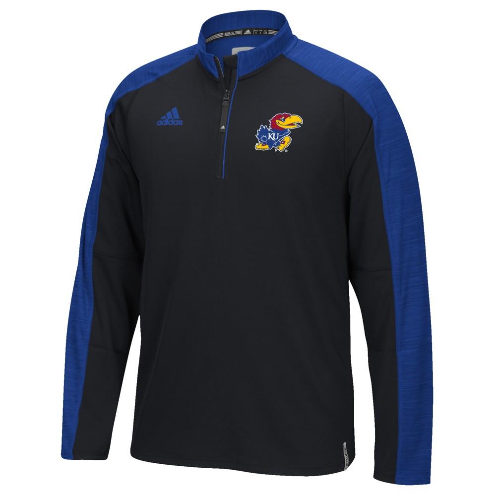 NCAA-Adidas-Team-Men-039-s-Sideline-Climalite-1-4-Zip-Hi-Visibility-Reflective-Knit thumbnail 33
