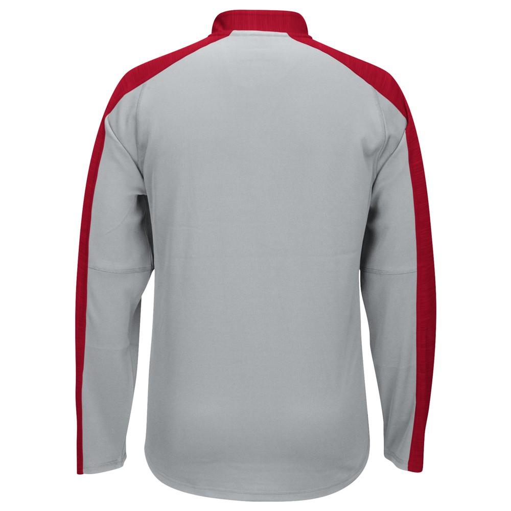 NCAA-Adidas-Team-Men-039-s-Sideline-Climalite-1-4-Zip-Hi-Visibility-Reflective-Knit thumbnail 52