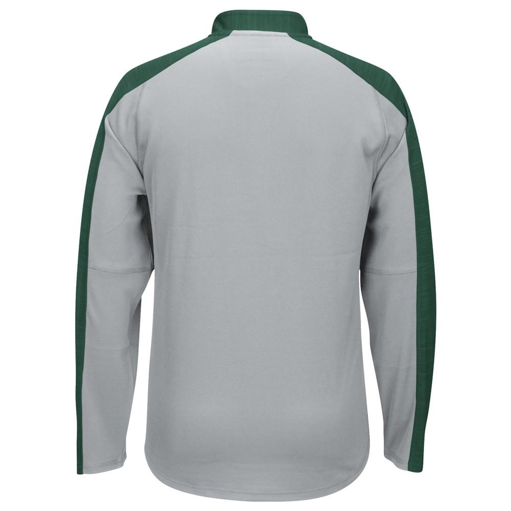 NCAA-Adidas-Team-Men-039-s-Sideline-Climalite-1-4-Zip-Hi-Visibility-Reflective-Knit thumbnail 64