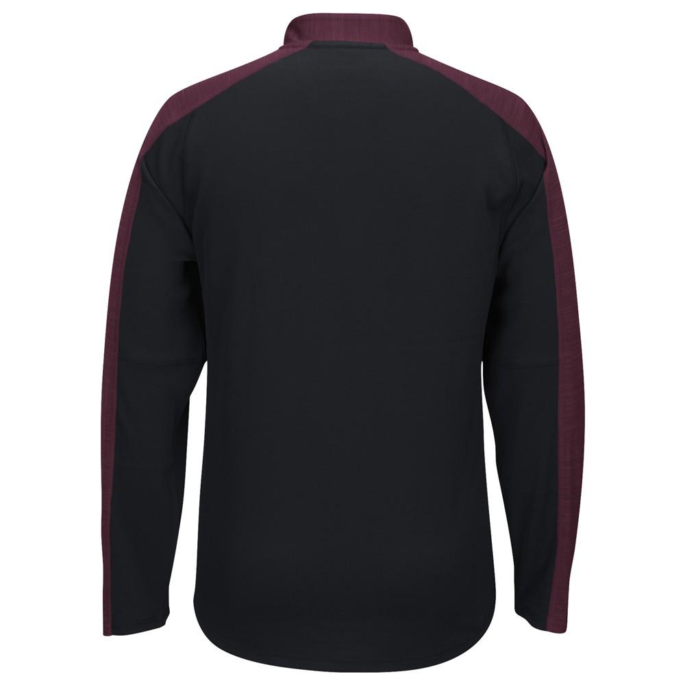 NCAA-Adidas-Team-Men-039-s-Sideline-Climalite-1-4-Zip-Hi-Visibility-Reflective-Knit thumbnail 100