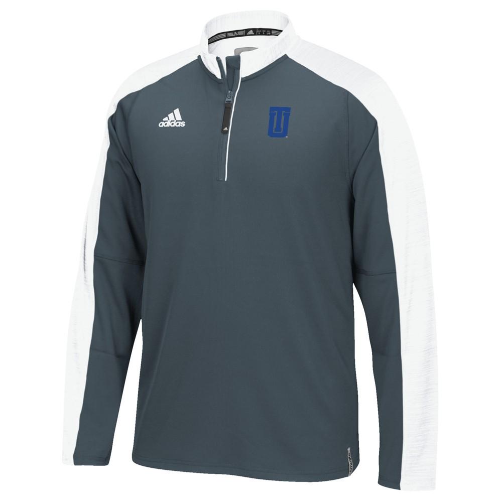 NCAA-Adidas-Team-Men-039-s-Sideline-Climalite-1-4-Zip-Hi-Visibility-Reflective-Knit thumbnail 113