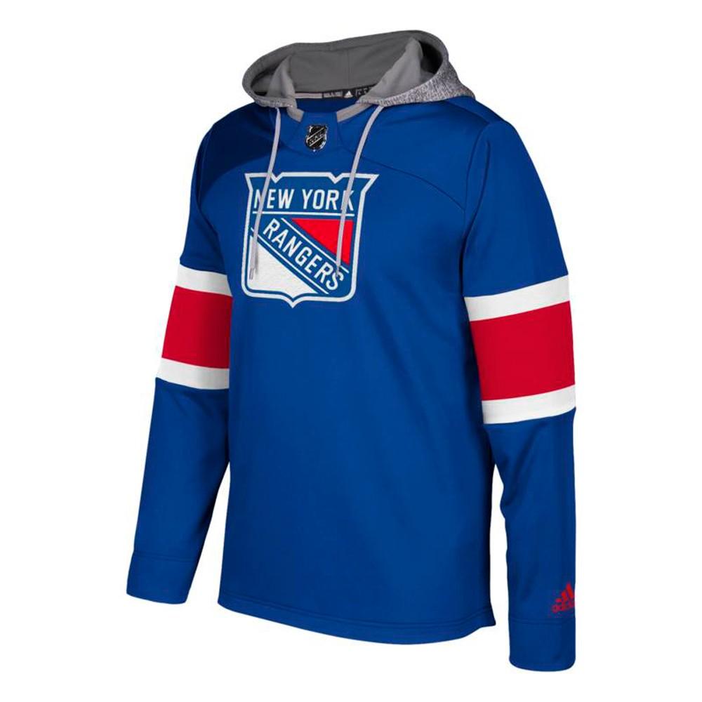 New York Rangers NHL Adidas Men's Blue Team Platinum Jersey ...