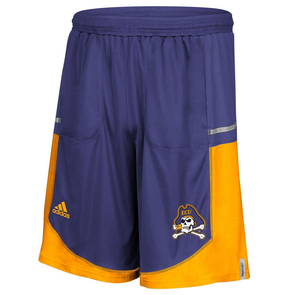 NCAA-Adidas-Men-039-s-Sideline-Player-Performance-Climalite-Basketball-Shorts thumbnail 15