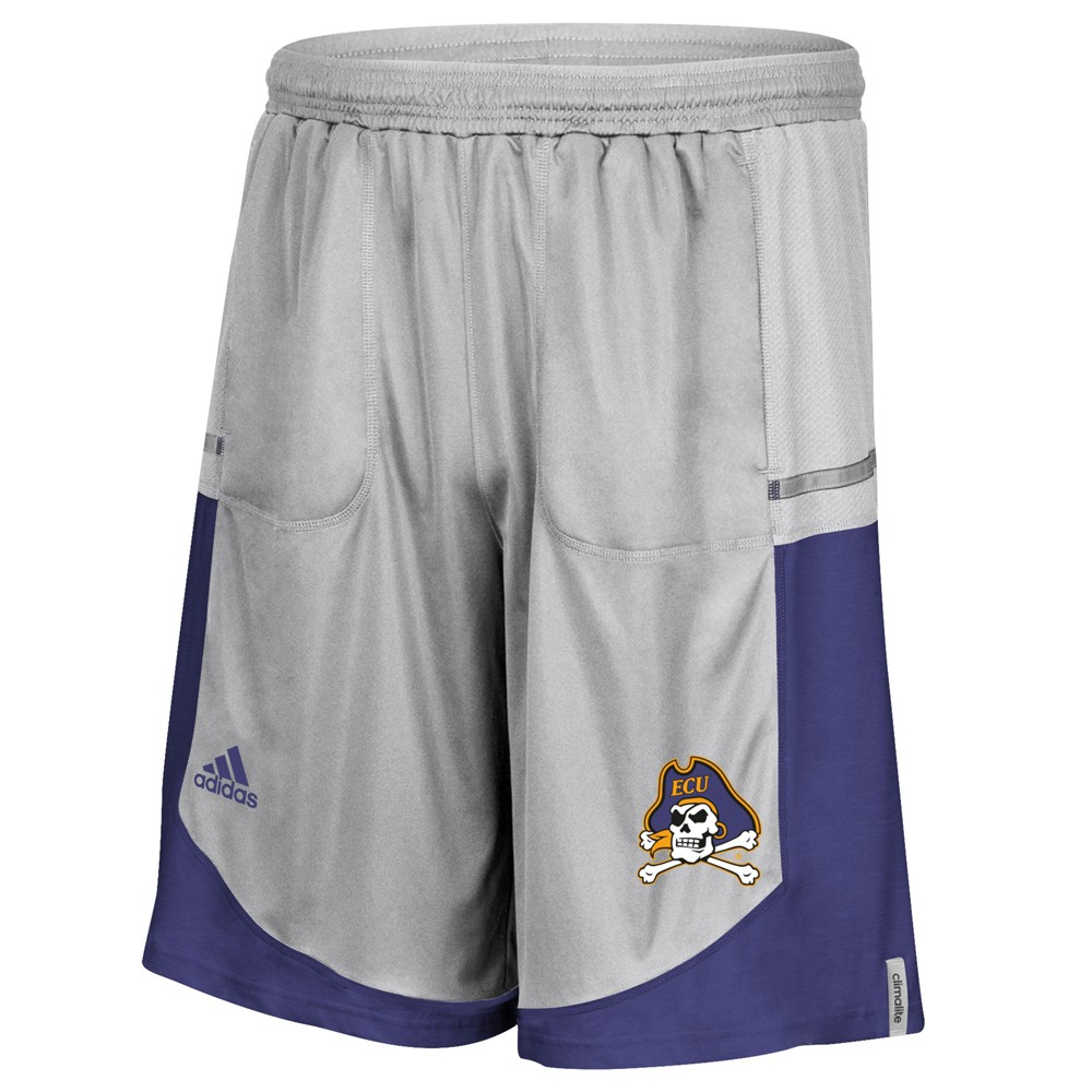 NCAA-Adidas-Men-039-s-Sideline-Player-Performance-Climalite-Basketball-Shorts thumbnail 18
