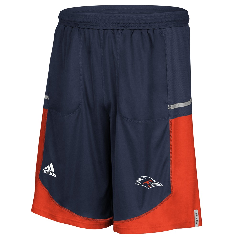 NCAA-Adidas-Men-039-s-Sideline-Player-Performance-Climalite-Basketball-Shorts thumbnail 48