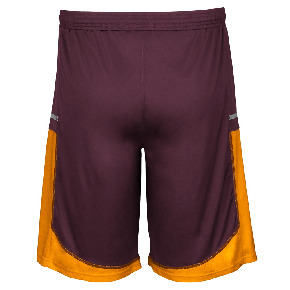 NCAA-Adidas-Men-039-s-Sideline-Player-Performance-Climalite-Basketball-Shorts thumbnail 4