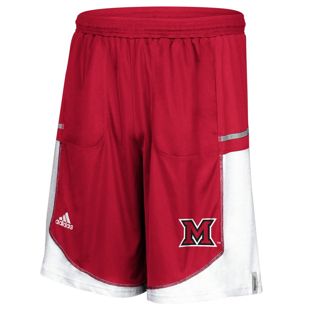 NCAA-Adidas-Men-039-s-Sideline-Player-Performance-Climalite-Basketball-Shorts thumbnail 36