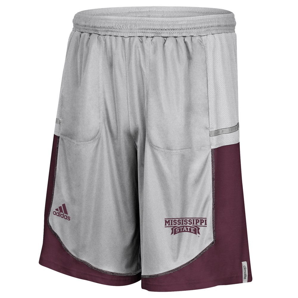 NCAA-Adidas-Men-039-s-Sideline-Player-Performance-Climalite-Basketball-Shorts thumbnail 39