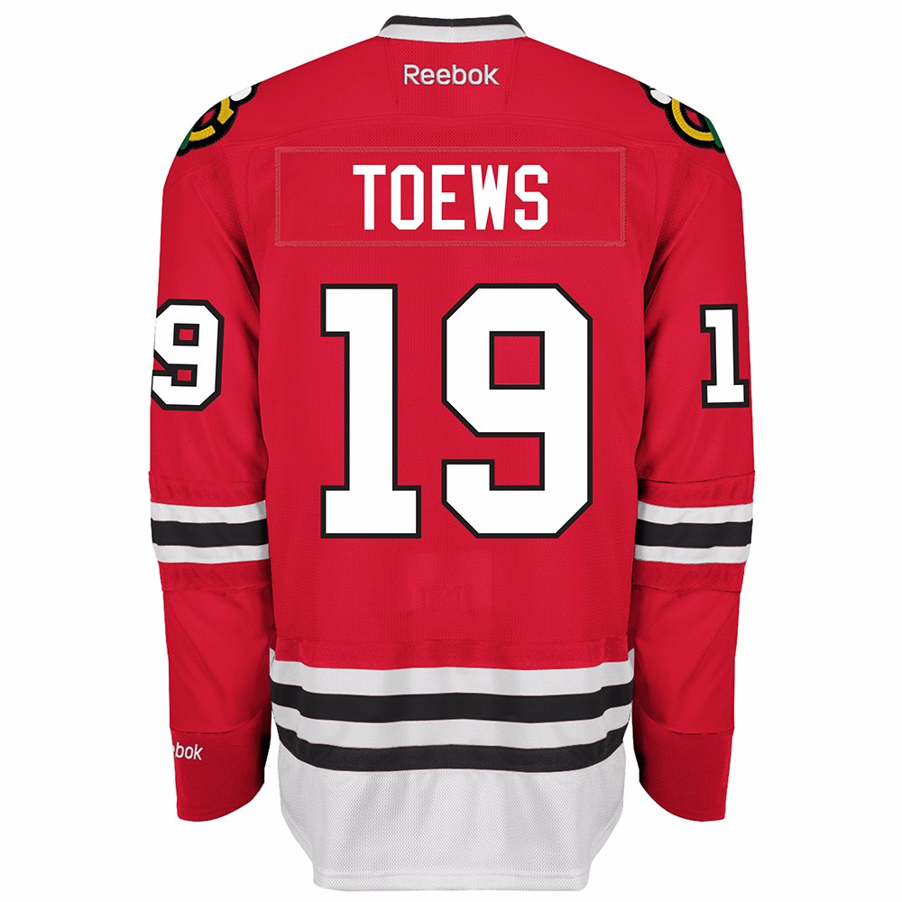 NHL Reebok Official Premier Home Player Jersey Collection Men s Chicago  Blackhawks Jonathan Toews Red 4xl. About this product. Picture 1 of 3   Picture 2 of ... 576f531d5