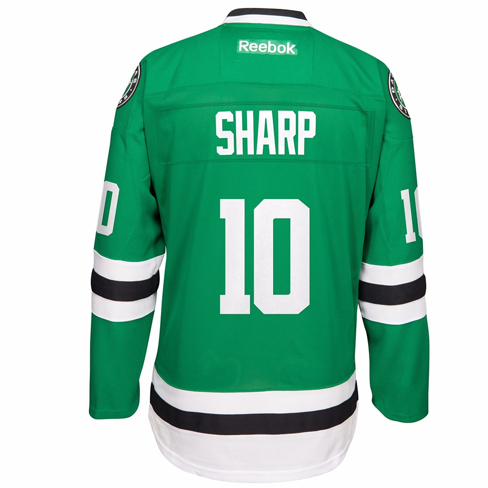NHL Reebok Official Premier Home Player Jersey Collection Men s Dallas  Stars Patrick Sharp Green L. About this product. Picture 1 of 3  Picture 2  of 3 ... 0fe2e963b