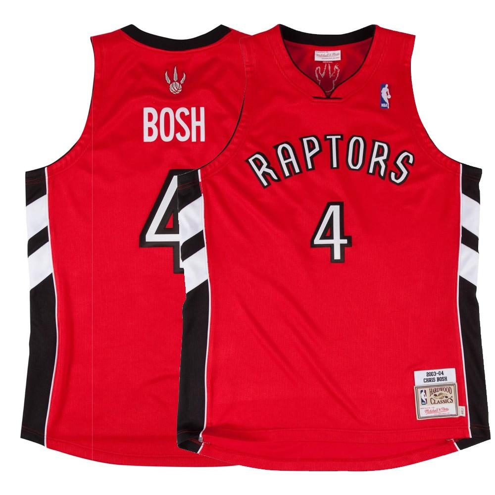 08d1ec8e408 ... buy 2003 04 chris bosh nba toronto raptors mitchell ness authentic away  red jersey 2xl 5dcdf