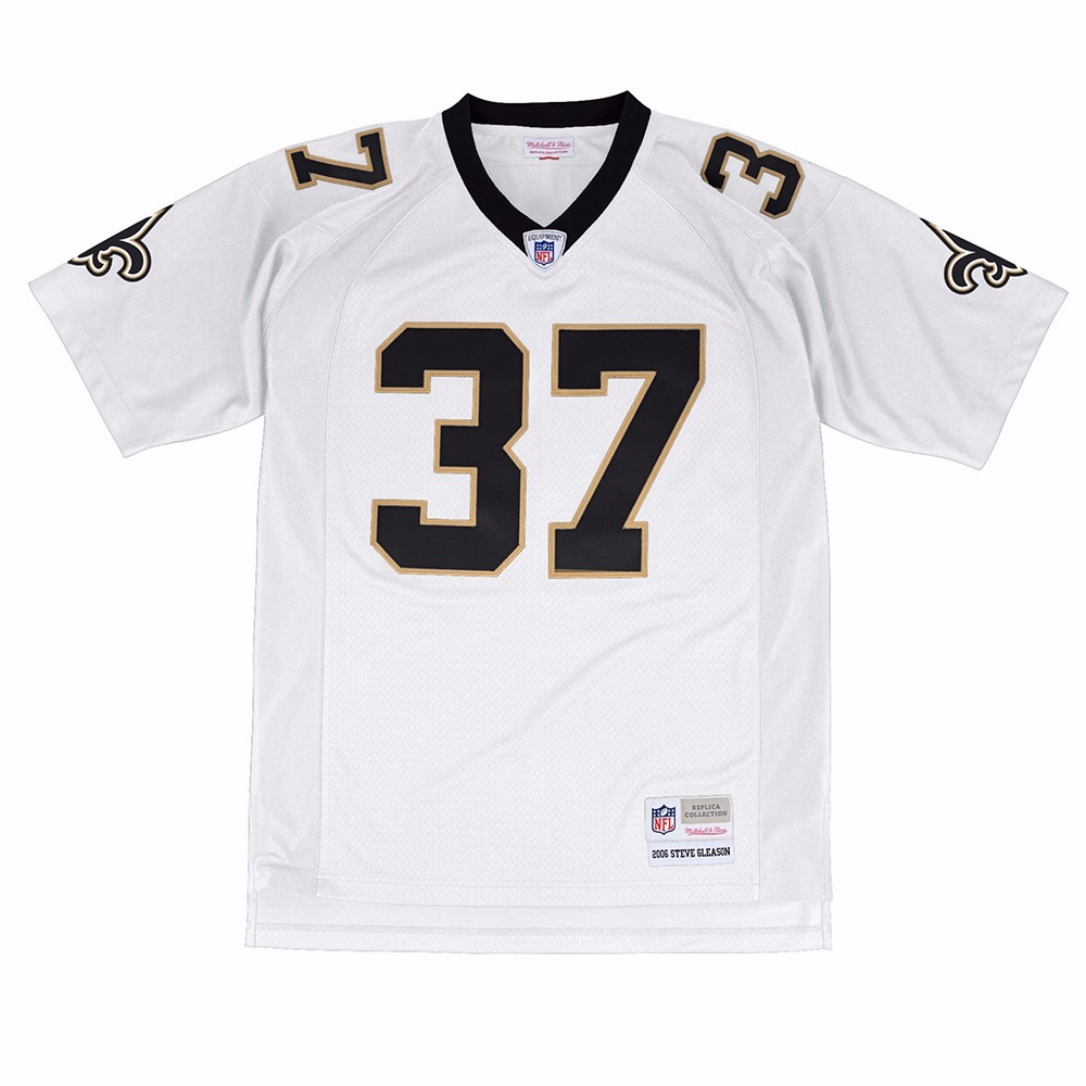 NFL-Mitchell-amp-Ness-Throwback-Player-Road-White-Legacy-Jersey-Collection-Men-039-s thumbnail 66