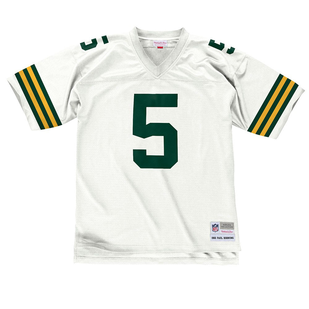 NFL-Mitchell-amp-Ness-Throwback-Player-Road-White-Legacy-Jersey-Collection-Men-039-s thumbnail 49