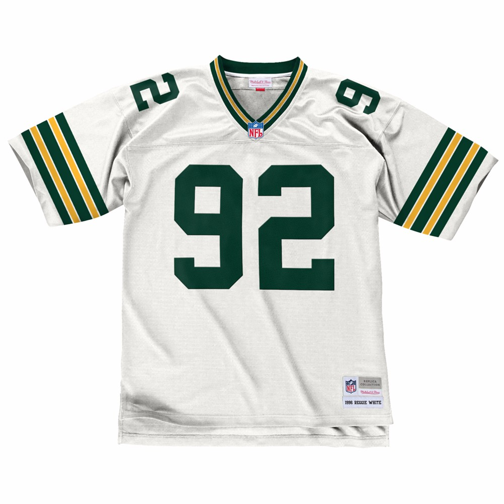NFL-Mitchell-amp-Ness-Throwback-Player-Road-White-Legacy-Jersey-Collection-Men-039-s thumbnail 60