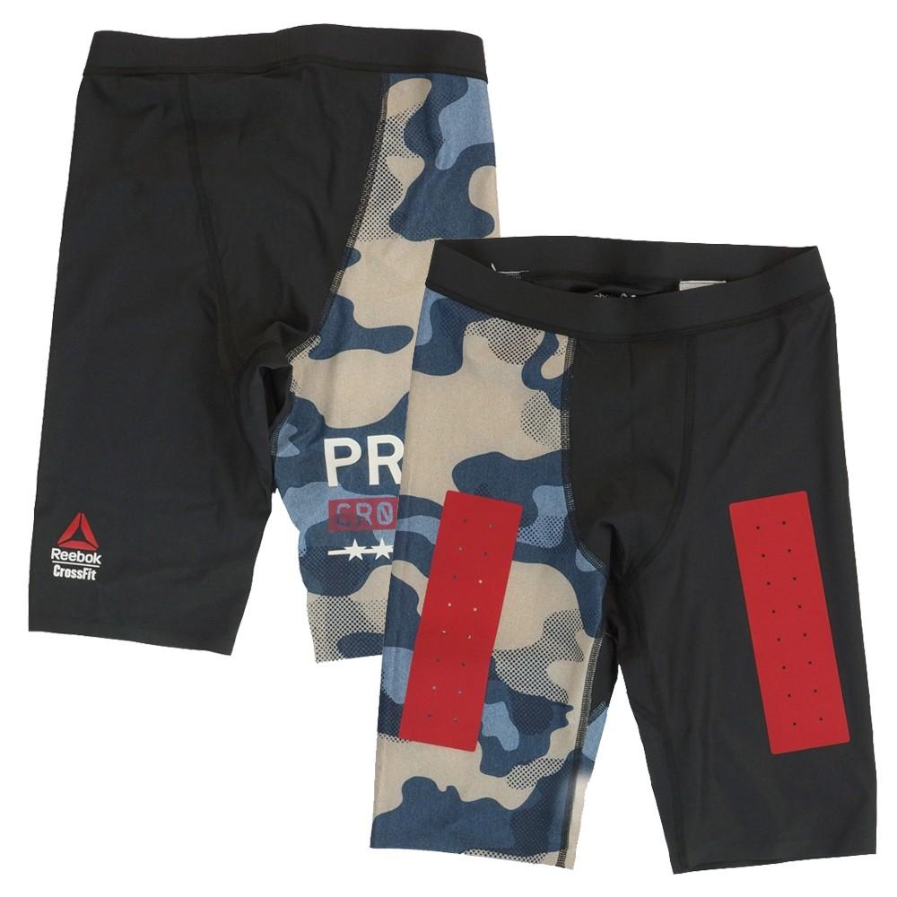 Multi Shorts Z90414 Reebok  Men/'s CrossFit Sticker Print Core ii Training