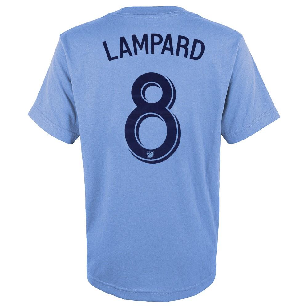 Details about Frank Lampard MLS Adidas New York City FC Light Blue Jersey  T- Shirt 23933e4eb2917