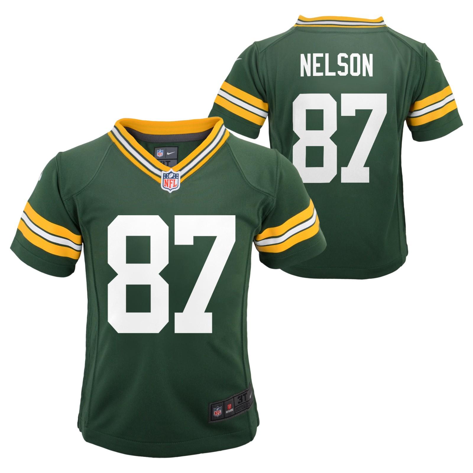 Jordy Nelson Green Bay Packers NFL Nike
