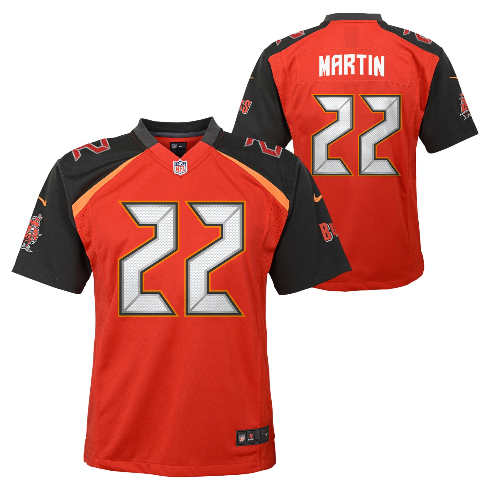 Doug Martin Tampa Bay Buccaneers NFL Nike Youth Red Game Jersey  5b85e3bc2