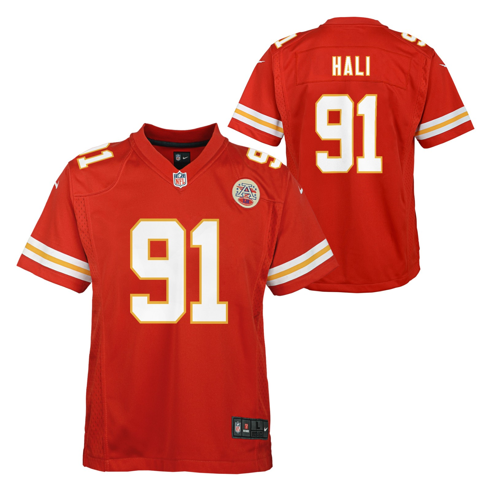 Details about Tamba Hali Kansas City Chiefs NFL Nike Youth Red Game Jersey ed34a3690