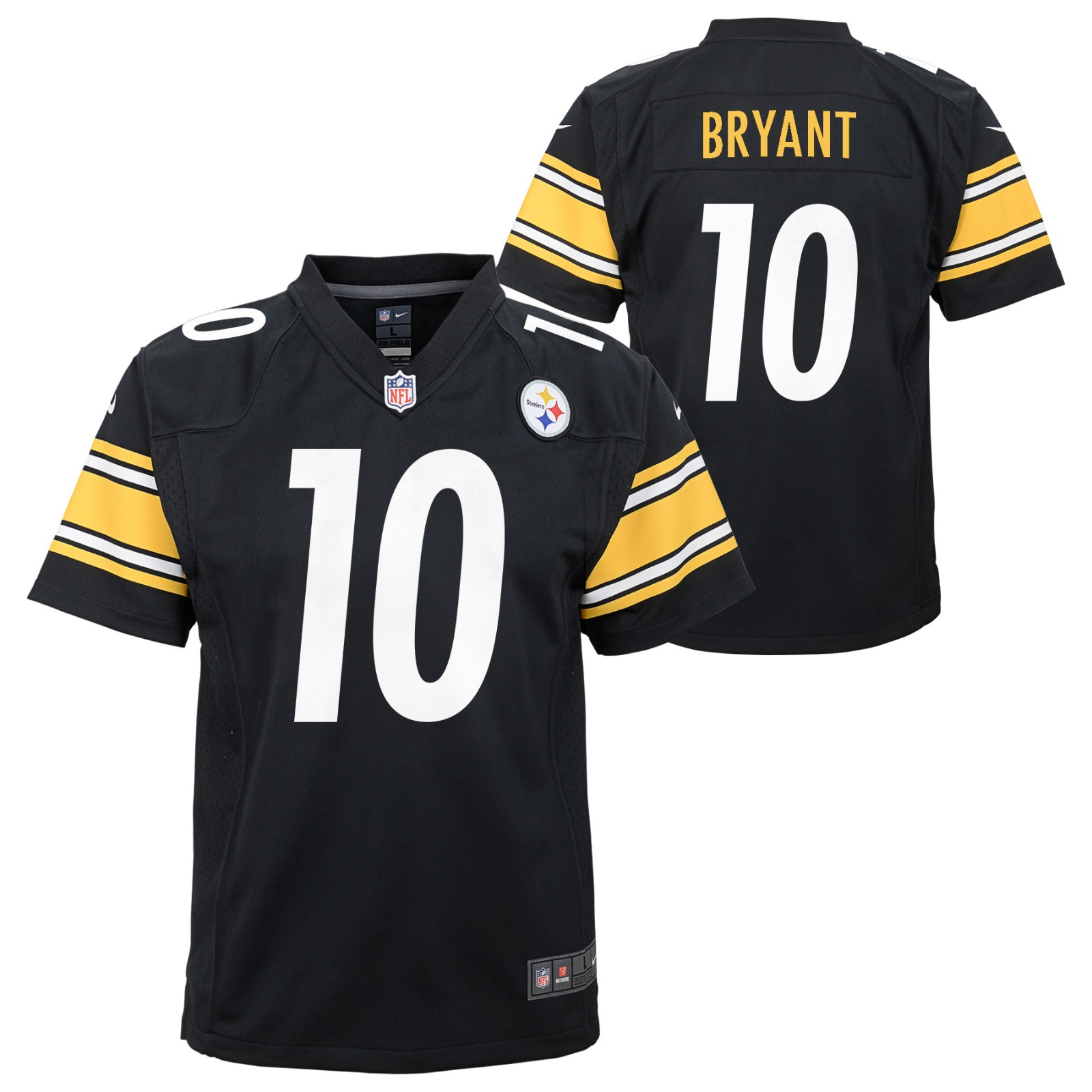 d9490667bc1 Details about Martavis Bryant Pittsburgh Steelers NFL Nike Youth Black Game  Jersey