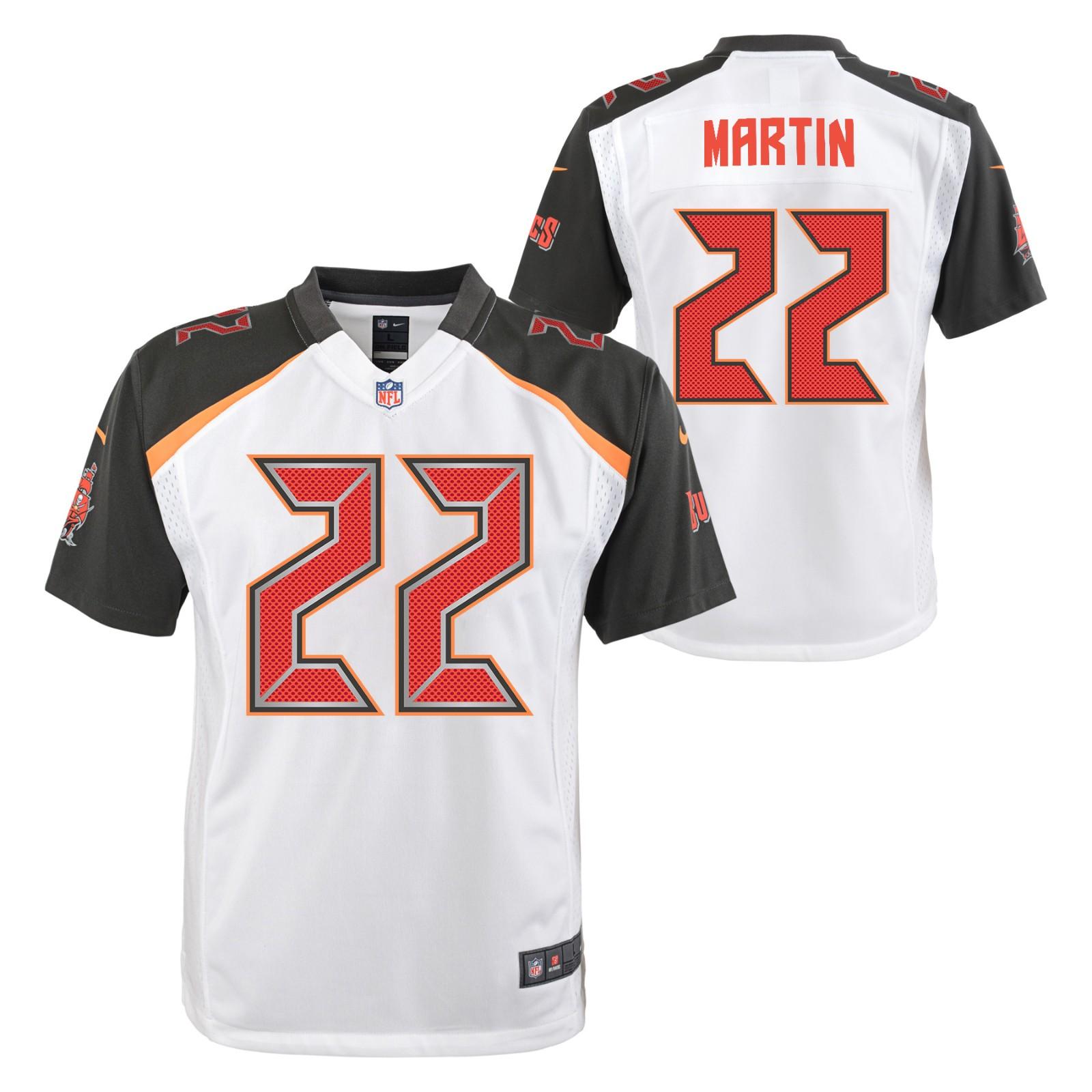 Doug Martin Tampa Bay Buccaneers NFL Nike Youth White Game Jersey ...