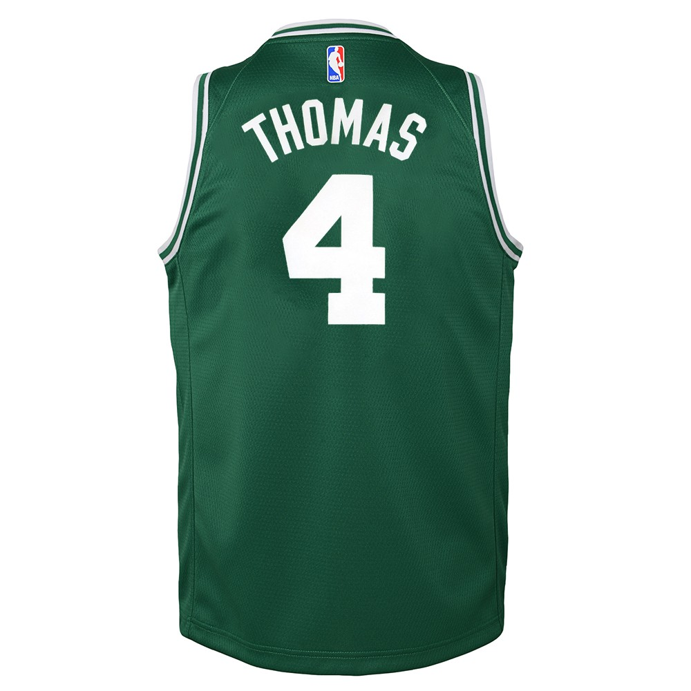 d61d733e0d07 Details about Isaiah Thomas Boston Celtics Nike Green Icon Swingman Jersey  Youth (S-XL)