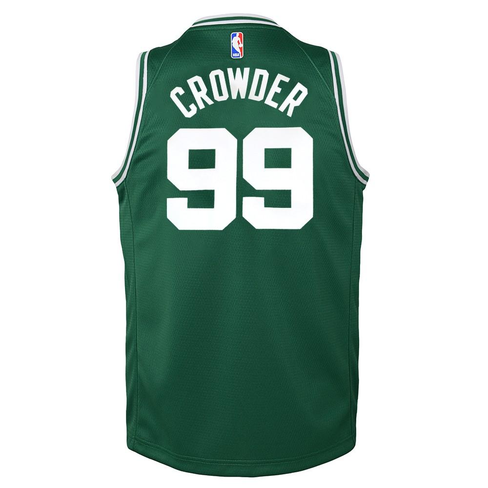 3c54f451f Details about Jae Crowder Boston Celtics Nike Green Icon Swingman Jersey  Youth (S-XL)