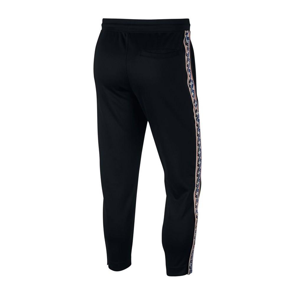 Nike Half Zip Hoodie with Taped Side Stripe in Brown AJ2296-234