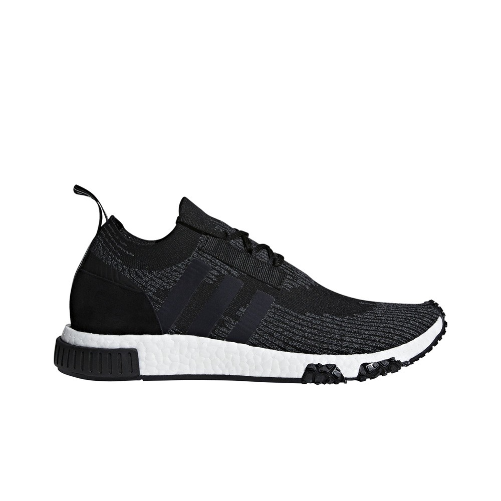 size 40 1c708 bcccf Adidas NMD Racer Primeknit (Core Black Grey Cloud White) Men s Shoes AQ0949
