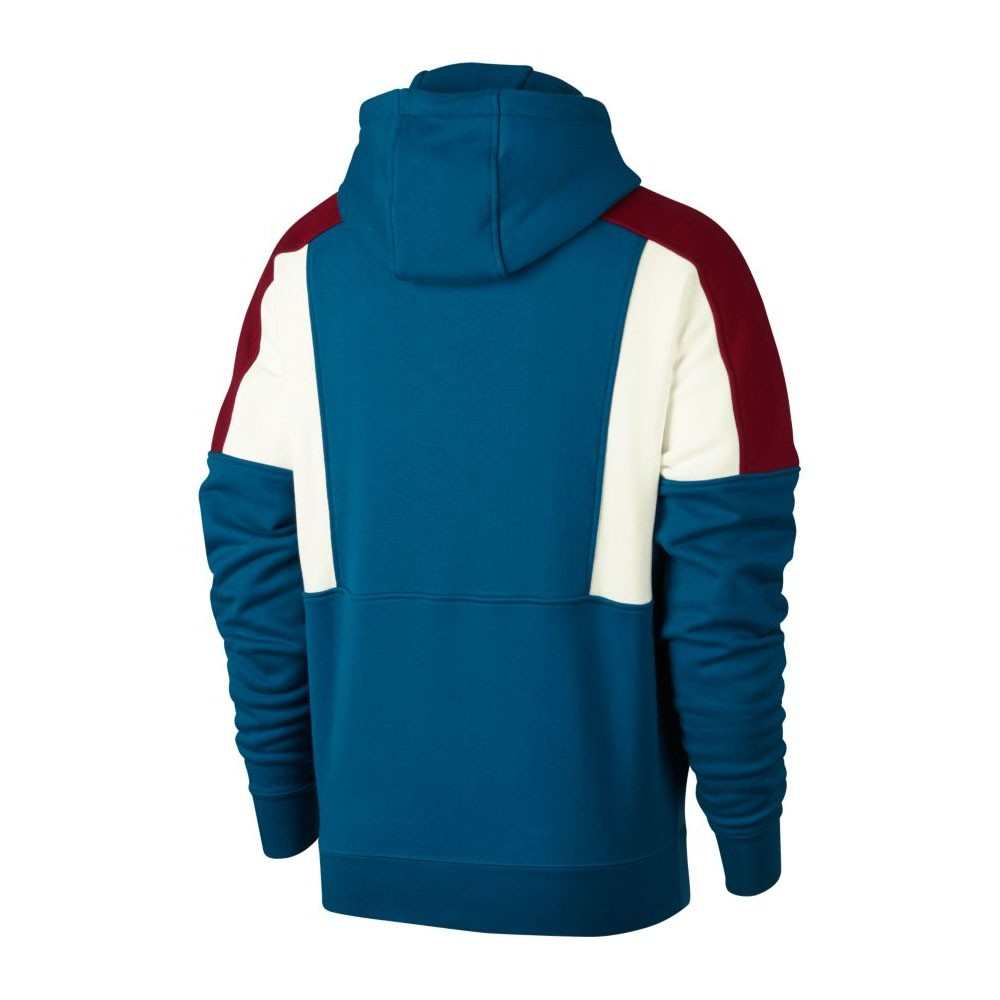 nike M NSW RE ISSUE CREW FLEECE TEAM REDSAILGREEN ABYSS