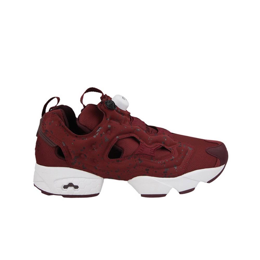 5bc2906d Details about REEBOK INSTAPUMP FURY SP (MERLOT/DARK RED/WHITE) Men's Shoes  AQ9802