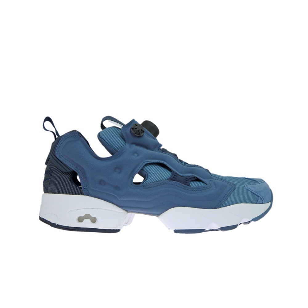e59739caac0b Details about Reebok Instapump Fury Tech (ROYAL SLATE COLLEGIATE NA) Men s  Shoes AR0624