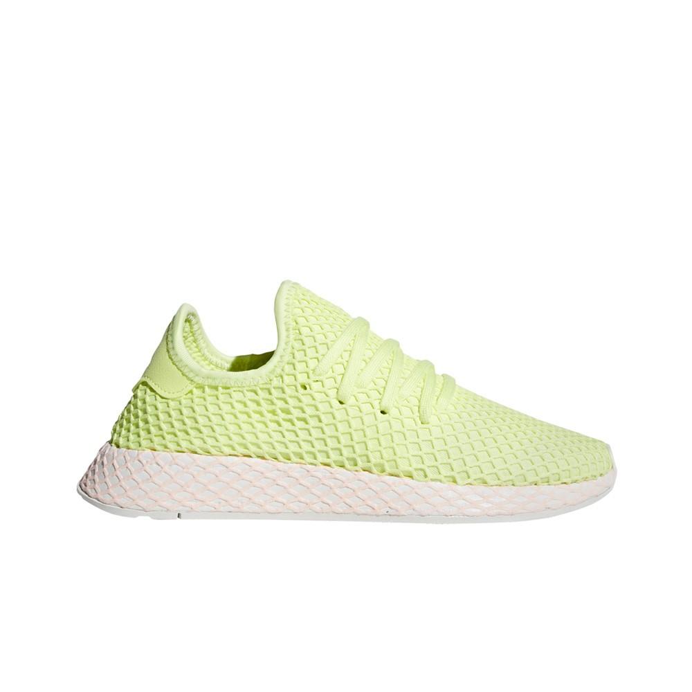 low priced 998f8 dfa26 Adidas Deerupt (GlowGlowClear Lilac) Womens Shoes B37599