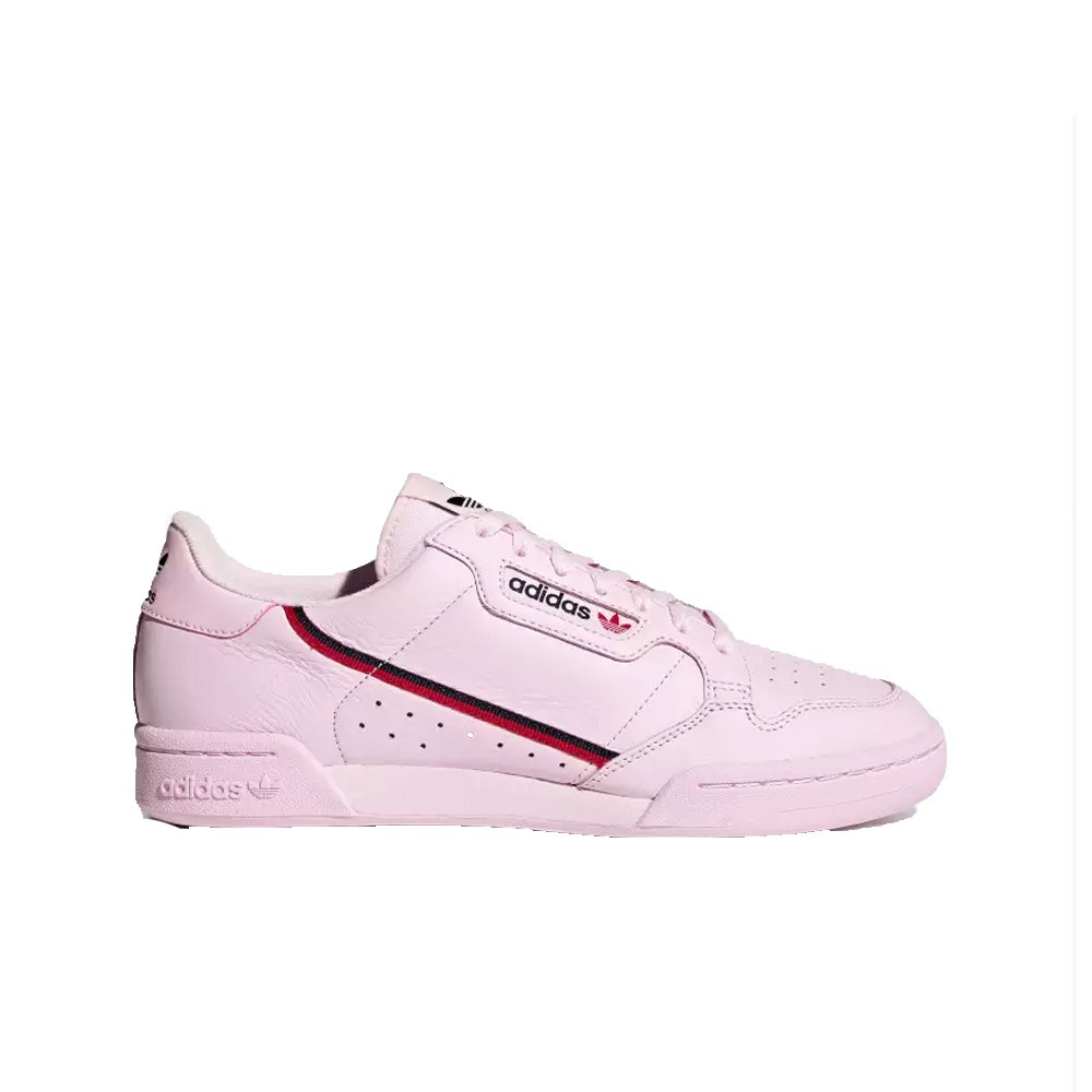 new york b04bb 3567a Adidas Continental 80 (Clear PinkScarletCollegiate Navy) Mens Shoes  B41679