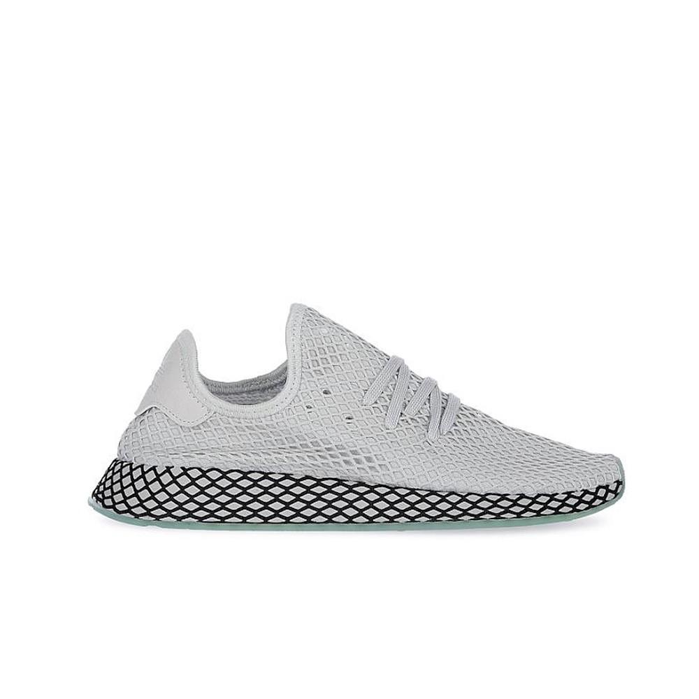 pretty nice 4765e 6288f Adidas Originals Deerupt Runner (GreyGreyClear Mint) Mens Shoes B41754