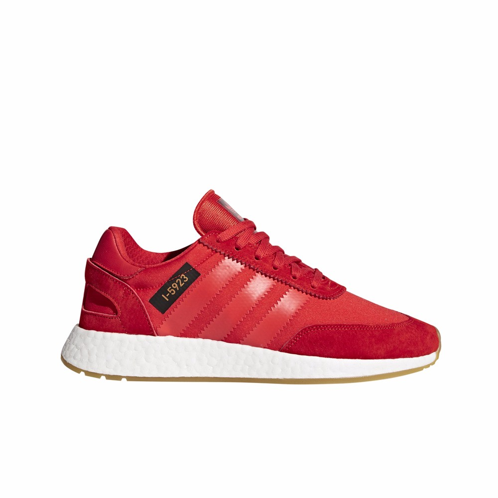 adidas man shoes red