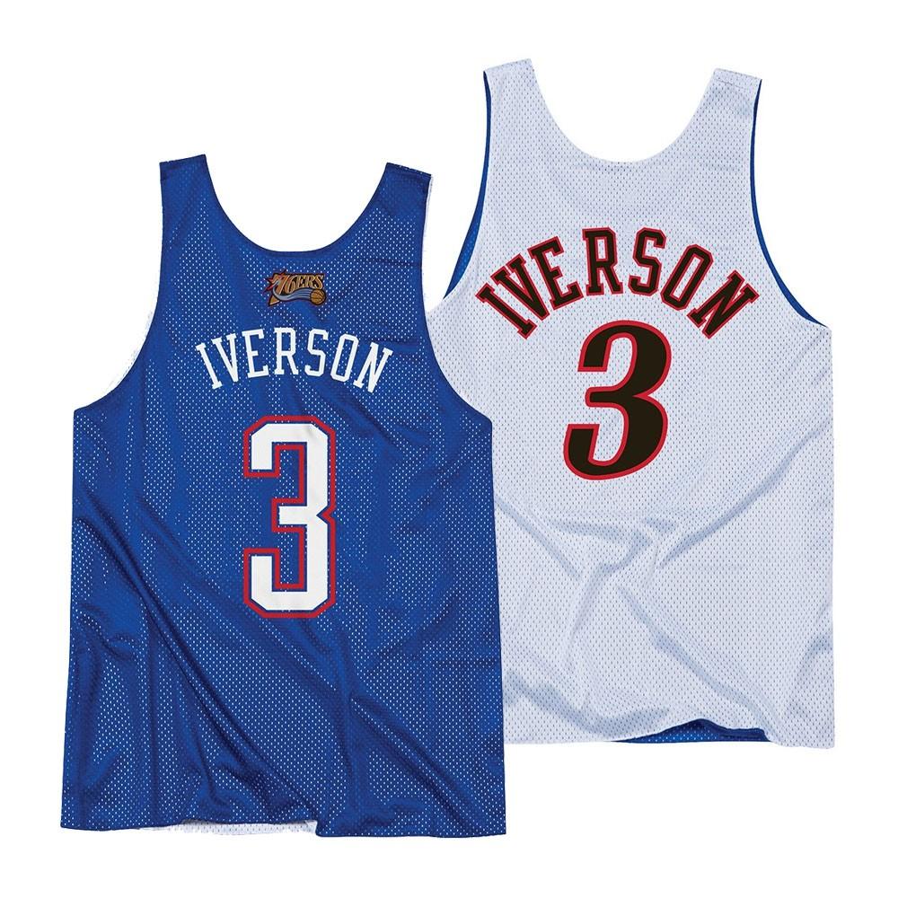 1f1c976a602 Allen Iverson Mitchell & Ness Philadelphia 76ers 2004 All Star Reversible  Tank