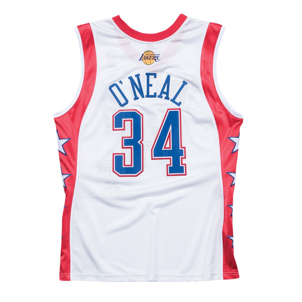 f5e215ea3f4a Shaquille O Neal 2004 NBA All Star West Mitchell   Ness Authentic Jersey  Men s