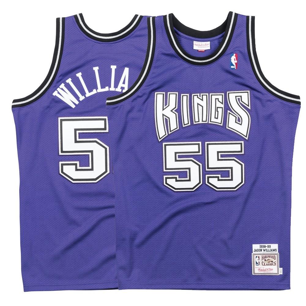 save off c926b 5f33f Details about 1998-99 Jason Williams NBA Sacramento Kings Mitchell & Ness  Authentic Alt Jersey