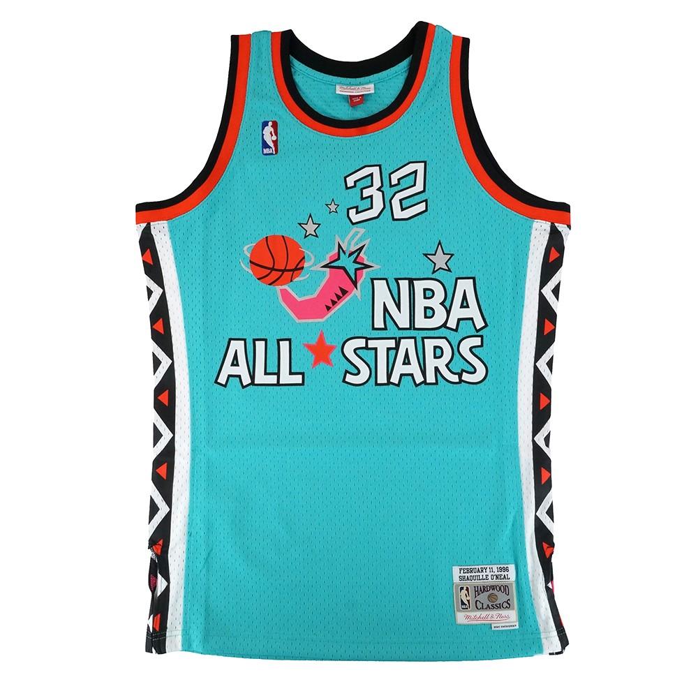 ee14bb1a85d8 Shaquille O Neal 1996 NBA All Star East Mitchell   Ness Swingman Jersey  Men s
