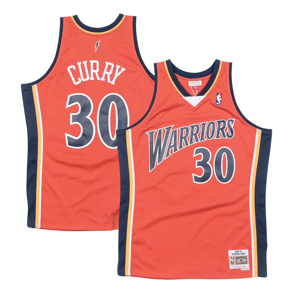 89736f19e353 Details about Stephen Curry Golden State Warriors 2009-10 Mitchell   Ness  Swingman Jersey