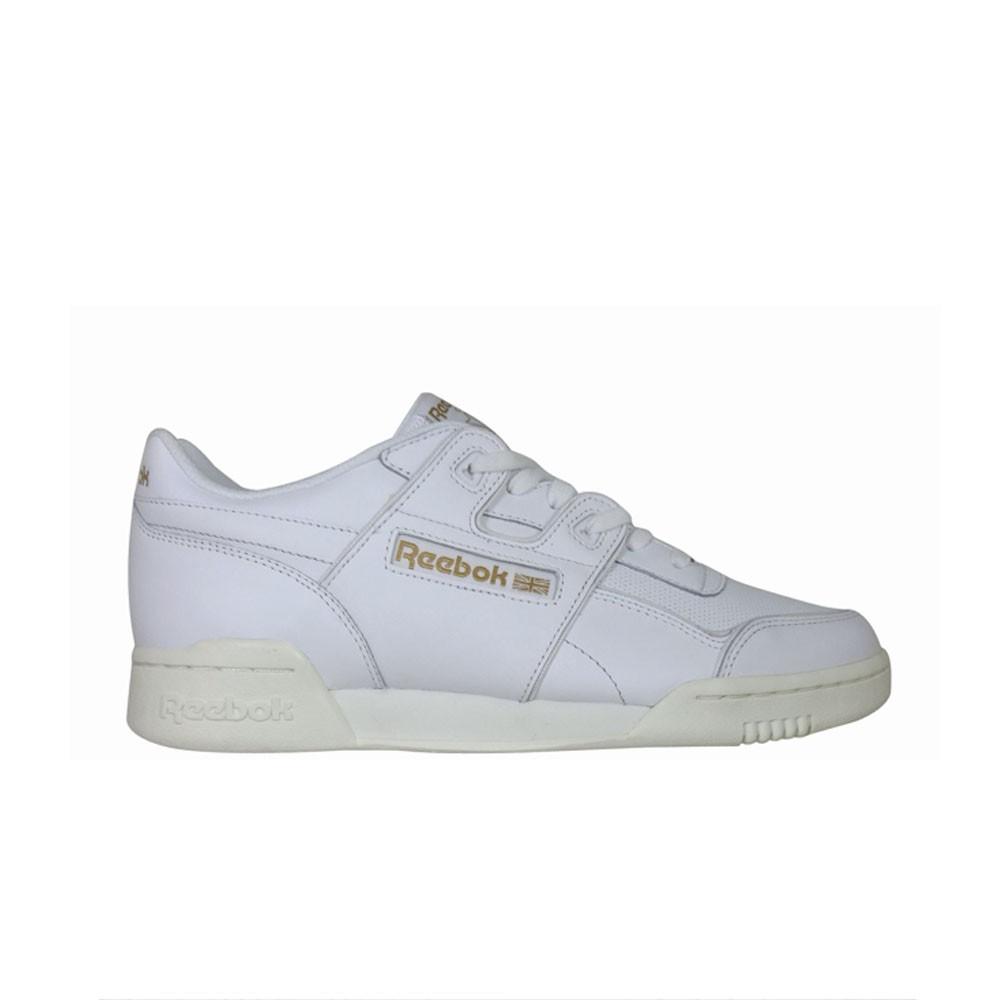 cdf7ac5e784d5 Reebok Classics Wokrout Plus ALR (White Chalk Snow Grey RB) Men s Shoes