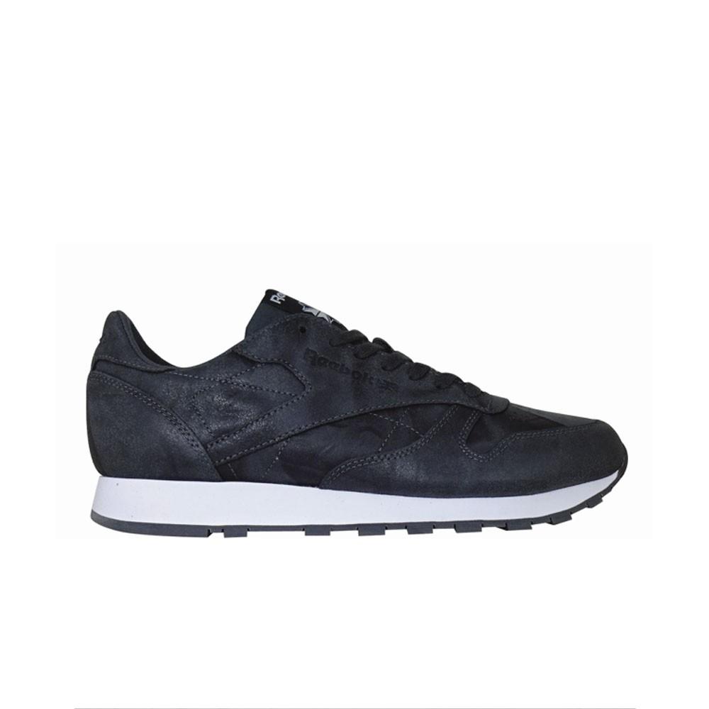 02673981105 Reebok Classic Leather Cte (GRAVEL BLACK WHITE) Men s Shoes BS5257 ...