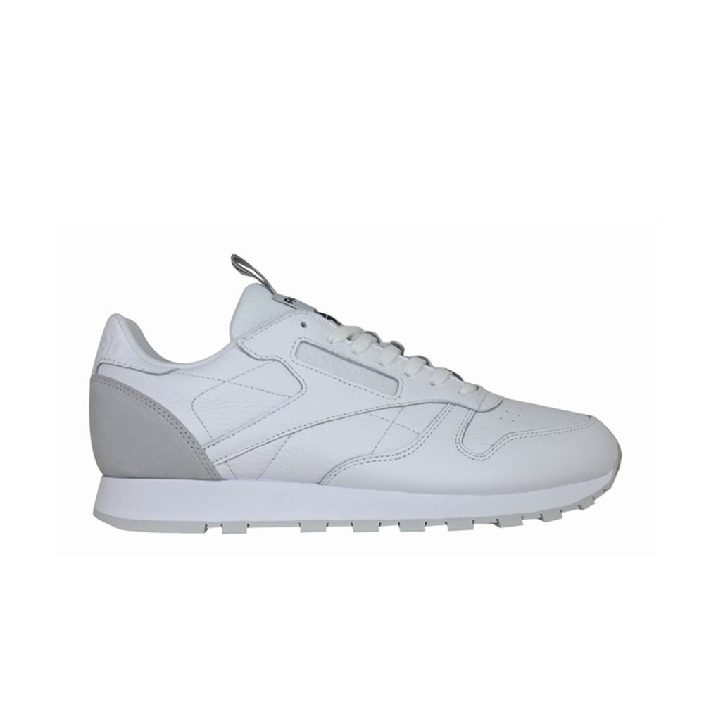 Details about Reebok Classic Leather It (WHITESKULL GREYBLACK) Men's Shoes BS6209
