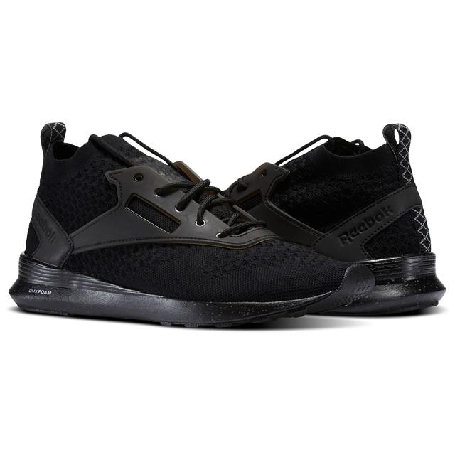 Men/'s Shoes BS6356 Black//Flint Grey//White Reebok Zoku Runner UltraKnit IS 9