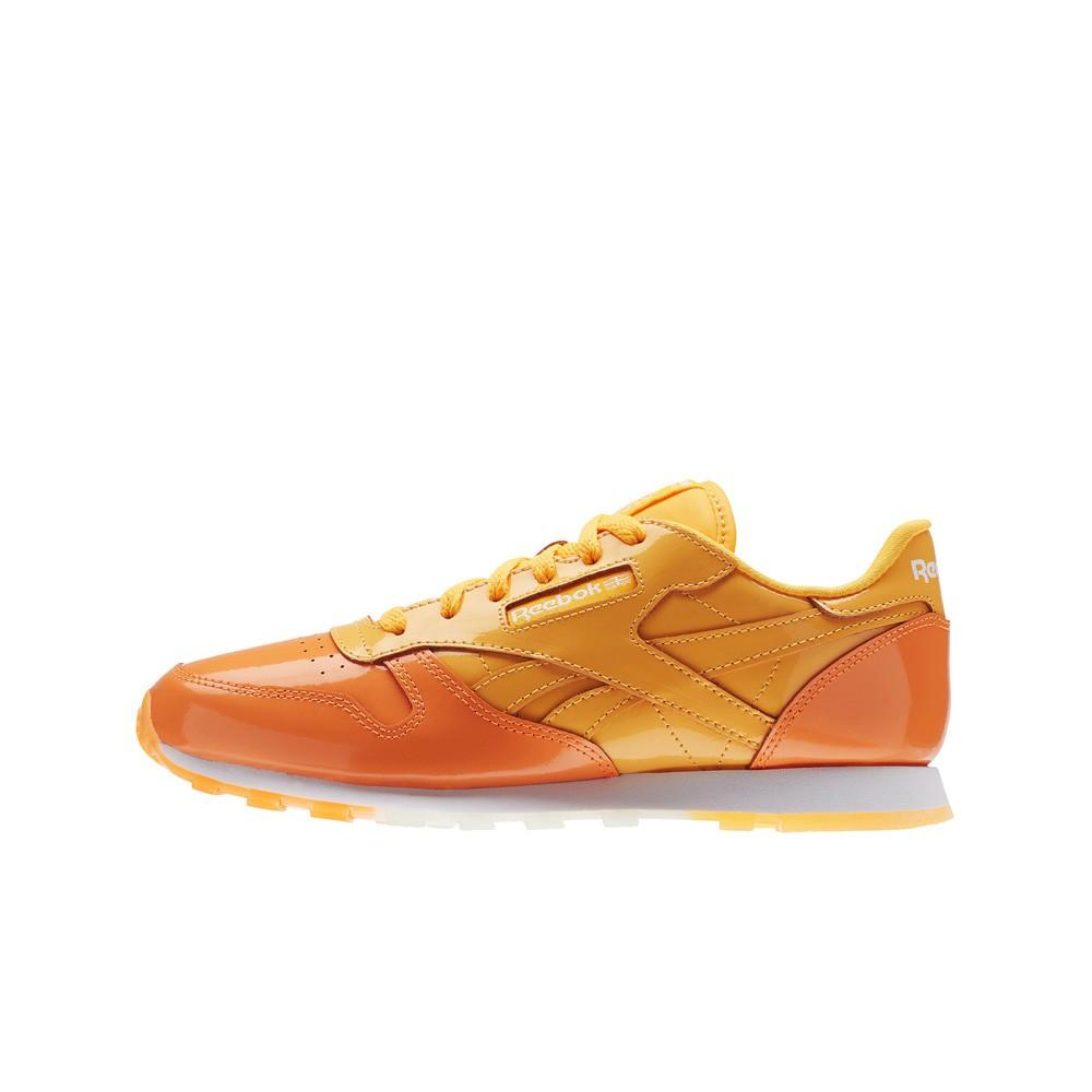 f36d37a3210 Reebok Classic Leather Dessert Pack (Orange) Grade School Kids Shoes BS7243