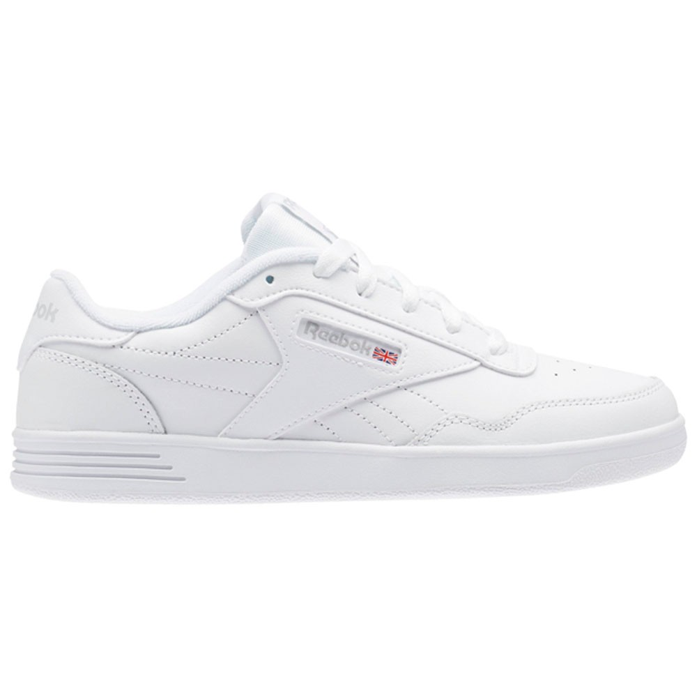 Reebok Reebok Club Memt (US-WHITE STEEL) Women s Shoes BS7649  a1ce15e55