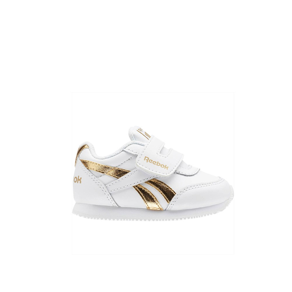 01e9dcfb Details about Reebok Reebok Royal Cljog 2 Kc (WHITE/GOLD MET) Toddler Shoes  BS8028