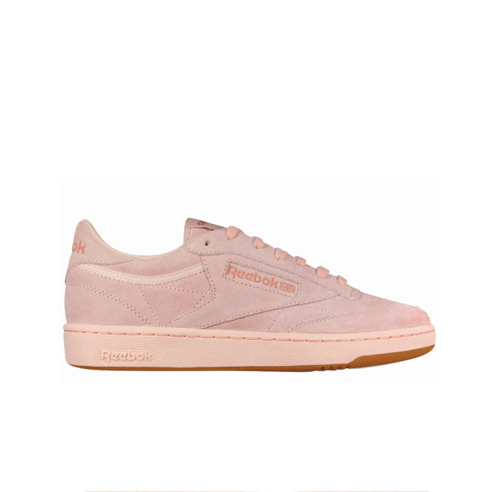Details about Reebok Club C 85 Tg (ROSE CLOUDRUSTIC CLAY GU) Men's Shoes BS8206